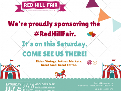 Supporting the Red Hill Fair