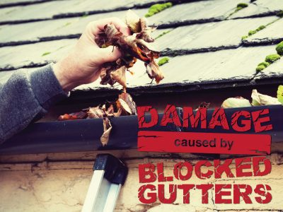 Damage Caused by Blocked Gutters